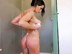 Big ass lovely busty babe Ashley Adams anal fucking
