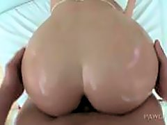 Splendid blonde butt fingered and pussy smashed