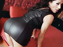 Hot and Spicy Mexicana MILF Goddess Galilea Stripping Down