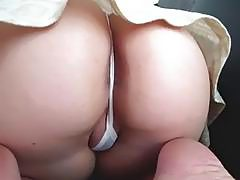 Young girl doing homework and fucking